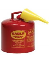 Eagle Mfg UI-50-SB 5Gal Blue Type 1 Safetycan