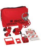 Brady 105967 Breaker Lockout Samplertoolbox Kit
