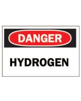 "Brady 25451 Plastic 10""X14"" ""Dangerhydrogen"" Sign"