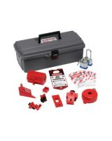 Brady 65289 Lockout Tool Box W/Components