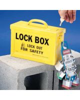 Brady 65672 Group Lock Box - Yellow