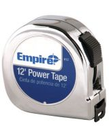 "Empire Level 612 5/8""X12' Power Tape W/Black Case"