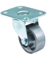 E.R. Wagner 1F40520040001AU 2X13/16 Lght Dty Au Onepiece Rigid Plate Caster (1 EA)