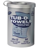 Gasoila Chemicals TW90 Tub O'Towels Hand/Hard Surface 90 Ct