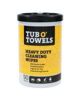 Gasoila Chemicals TW90 Tub O'Towels Hand/Hard Surface 90 Ct