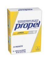 Gatorade 01090 Propel Powder Electrolyte Lemon 16.9Oz 120Ea/Ca