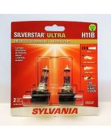 Sylvania H11B SilverStar ULTRA (Qty: 1)