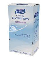 Gojo 315-9027-12 Purell Cottony Soft Sanitizing Wipes Disp 120 Ct (1 CA)