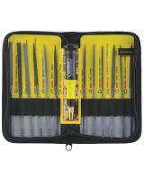 General Tools 707475 Needle File Set 12Pc