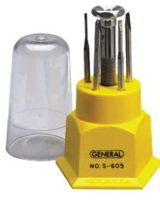 General Tools S607 42566 7 Piece Jeweler'Sscrewdriver Set