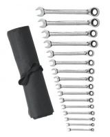 Gearwrench 9602Rn 16Pc Reversible Comb Ratmetric Roll Non Capstop