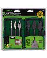 """Greenlee 34AR-6 03710 6 Spade Bit Set (3/8"""" To 1"""" ) (1 SET)"""