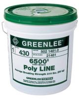 Greenlee 332-430 Poly Line 6500'