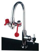 Guardian G1100 Emergency Faucet Mountedeye Wash W/Adjustabl