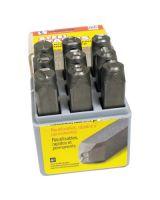 "C.H. Hanson 23021 1/2"" 9Pc Premier Numberset Steel Hand"