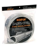 "Wrap-On 16730 1/8""X2""X30' Pipe Insulation Insul-Foil"