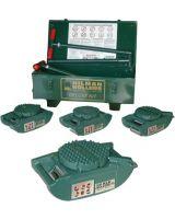 Hilman Rollers Krs-30-Sld 300-K30Fd 30T Deluxe Roller Kit W/Swivel Lo