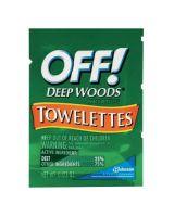 Raid/Off CB549967 Off Deep Woods Towelettes-25% Deet (144 EA)