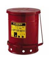Justrite 400-09300 10 Gallon Oily Waste Canw/Lever (1 EA)
