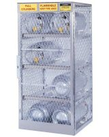 Justrite 400-23001 Horizontal 4 Cylinder Locker (Qty: 1)