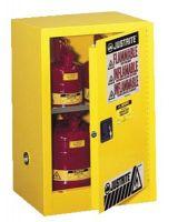Justrite 891200 12G Cab Man Yl Flam Safeex