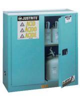 Justrite 893002 30 Gal Man Corrosive W/Pdl Hnd