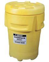 Justrite 28201 95 Gallon Polyethylene Overpack Drum