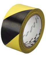 "3M Industrial 021200-43181 3M Hazard Warning Tape 766 Blk/Yellow 2""X36Yd"