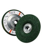 "3M Abrasive 051111-55960 3M Green Corps Depressedcenter Wheel 4-1/2X1/4"" (10 EA)"