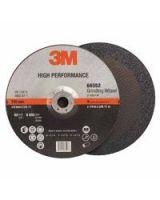 """3M Abrasive 051115-66552 Gdg Whl. T27 Q.C.  9 """" X1/4 """" X 5/8-11 """" (10 WH)"""