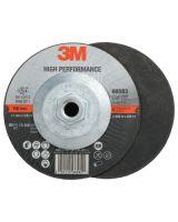 """3M Abrasive 051115-66583 Whl. T27 Q.C.  6 """" X .045 """" X 5/8-11 """" (25 EA)"""