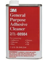 3M Industrial 051135-08984 3M General Purpose Adhesive Cleaner Quart