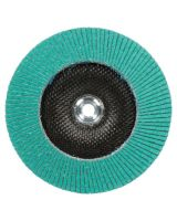 3M Abrasive 051141-28565 Flap Disc 577F  T29 4 Inx 5/8 In 80 Yf-Weight (10 DC)