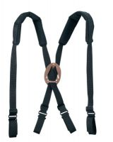 Klein Tools 5717 Padded Suspenders-Black