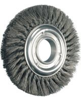"Advance Brush 82283 4"" Standard Twist Knot Wheel .014 Ss Wire 5/8-11"