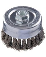 "Advance Brush 82401 3-1/2"" Combitwist Knot Cup Brush .014 Cs Wire 5/"