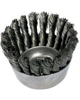 "Advance Brush 410-82220 2-3/4"" Knot Wire Cup Brush .020 Cs Wire 5/8-11 T (1 EA)"