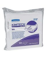 "Kimberly-Clark Professional 33330 11.5""X12"" Crew Poly White Cleanroom Wipes 100/Bx (5 BX)"