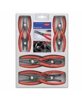 Knipex 00-2004SB 8-Pc Prec Circlip Snap-Ring Plier Set