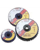 """Cgw Abrasives 421-30002 2"""" Roloc-Type T27 Zir Reg 40 Grit Flap Disc (Qty: 1)"""
