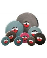 Cgw Abrasives 38014 6X1X1 A60-M-V Bench Wheel 1 Pk