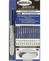 King Tool 422-Ktd01 Ki Ktd01 Magnum Tip Drill Set (1 SET)