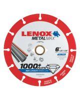 """Lenox 1972923 Lenox Diam Cutoff Wh Ag/Cs 6"""" X 7/8""""  Angle Grin"""