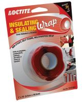 "Loctite 442-1212164 Insulating & Sealing Wrap 1"" X 10' Red (Qty: 1)"