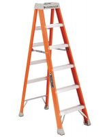 Louisville Ladder Fs1504 4' Fiberglass Advent Step Ladder