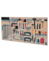 Kennedy 50004TX 4-Panel Toolboard Set W/60-Piece Toolholder Set