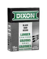 Dixon Ticonderoga 49400 Carbon Black Lumber Crayon 494 (12 MKR)