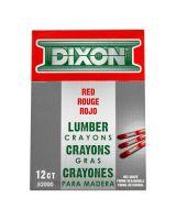 Dixon Ticonderoga 52000 Lumber Crayon Red520 (12 MKR)