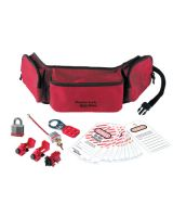 Master Lock 1456E3 Safety Series Personal Lockout Pouches