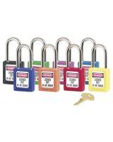 Master Lock 470-410Prp 6 Pin Tumbler Purple Safety Lockout Padlock K.D. (Qty: 6)